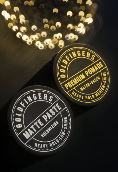 Goldfingers Matte Paste - Pomades - Goldfingers Pomade - Naiise