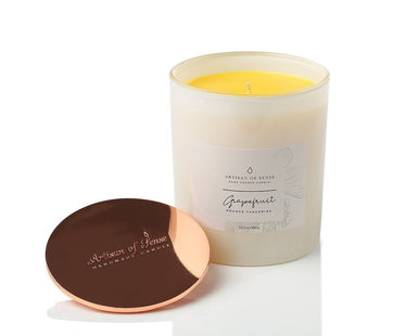 Grapefruit, Tangerine & Orange Hand-poured Soy Candle Scented Candles Artisan of Sense
