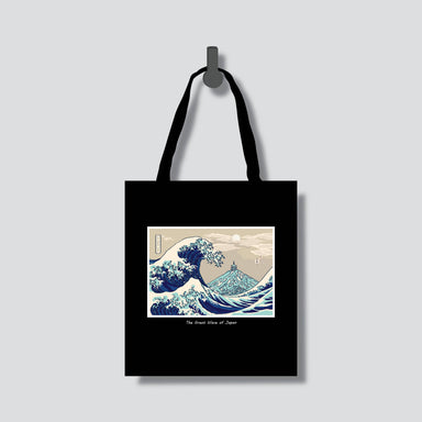 Great Wave of Japan Totebag - Tote Bags - Chaps V8.2 - Naiise
