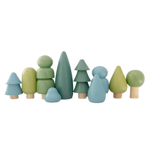 Green Wooden Forest by Littlemonq - Kids Toys - Little Happy Haus - Naiise