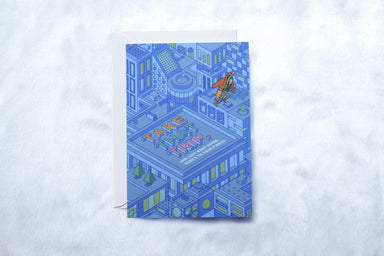 Greeting Card - Roof - Generic Greeting Cards - pencilled - Naiise