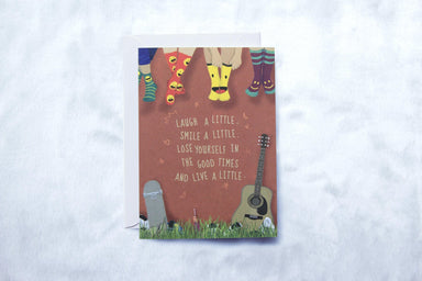 Greeting Card - Socks - Generic Greeting Cards - pencilled - Naiise