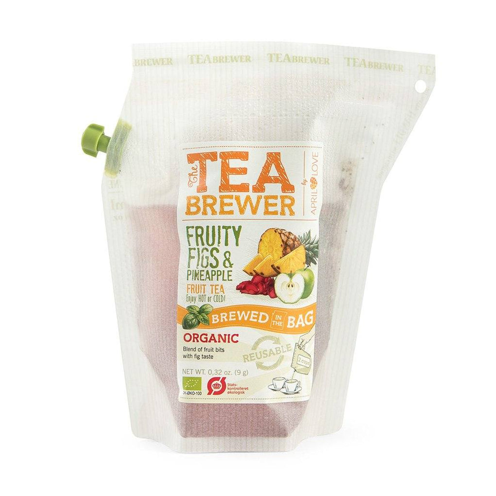 Growers Cup Organic Infusion Flavoured Tea - Fruity Figs & Pineapple Fruit Tea Teas Growers Cup