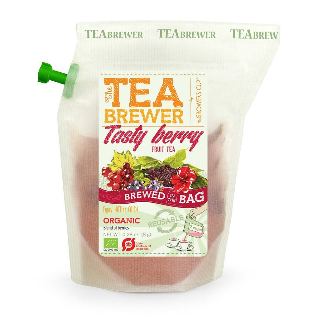 Growers Cup Organic Infusion Flavoured Tea - Tasty Berry Red Tea Teas Growers Cup