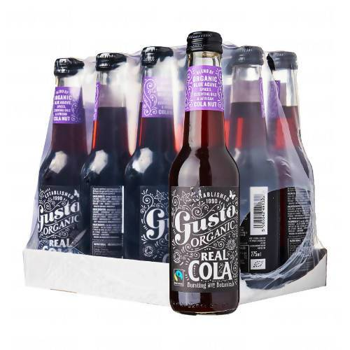 Gusto Organic Real Cola - Case of 12 - Beverages - Hiko Drinks - Naiise