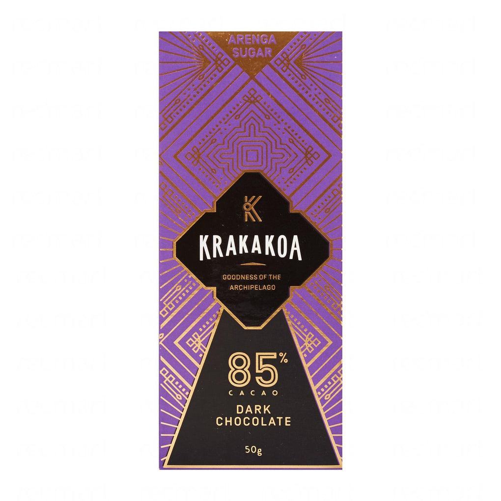 Halal-Certified Arenga 85% Dark Chocolate (Krakakoa) Chocolate Beans to Bars