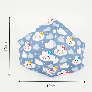 Handmade Kids Reusable Face Mask – Cloud New Arrivals Zigzagme