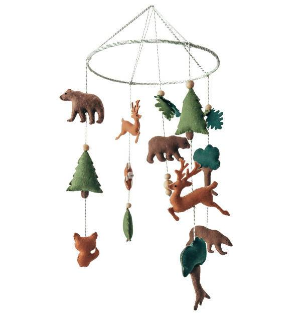 Woodland Crib Mobile - Kids Toys - Little Happy Haus - Naiise