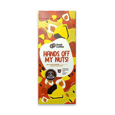 Hands off my Nuts x Brazilian Tan Coffee Hook Coffee