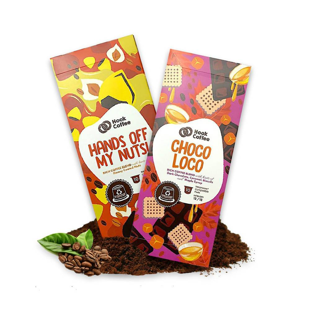Hands off my Nuts! x Choco Loco - Coffee - Hook Coffee - Naiise
