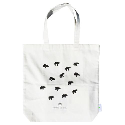 Happiness Made Simple Tote Bag Tote Bags B-Diff