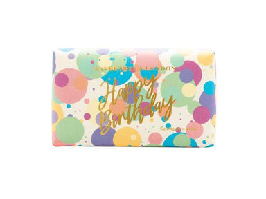 Happy Birthday Bar Soap Soaps Wavertree & London