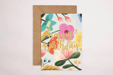Happy Birthday(Colourful) Card - Birthday Cards - YOUNIVERSE DESIGN - Naiise