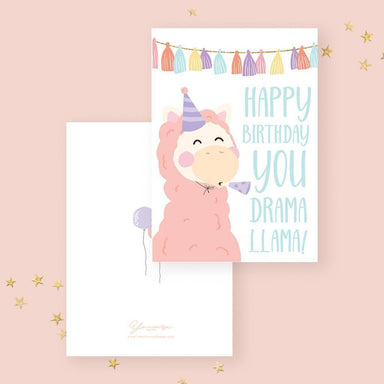 Happy Birthday(Party Llama) Card - Birthday Cards - YOUNIVERSE DESIGN - Naiise