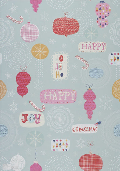 Happy Christmas Wrapping Paper - Wrapping Papers - MULTIFOLIA ATELIER di Rita Girola - Naiise