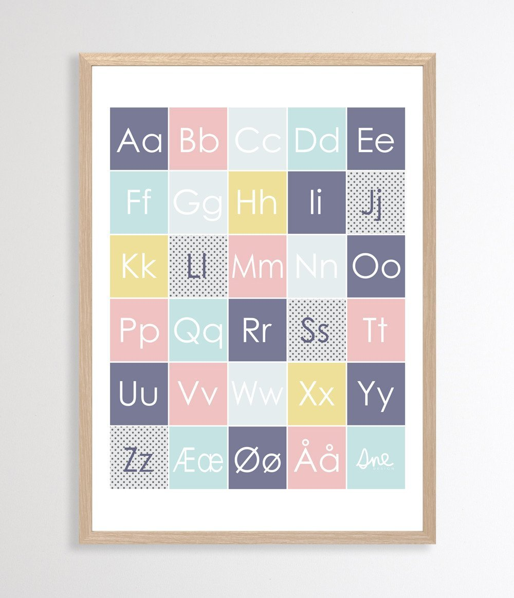 Happy Forest Alphabet Poster - Naiise