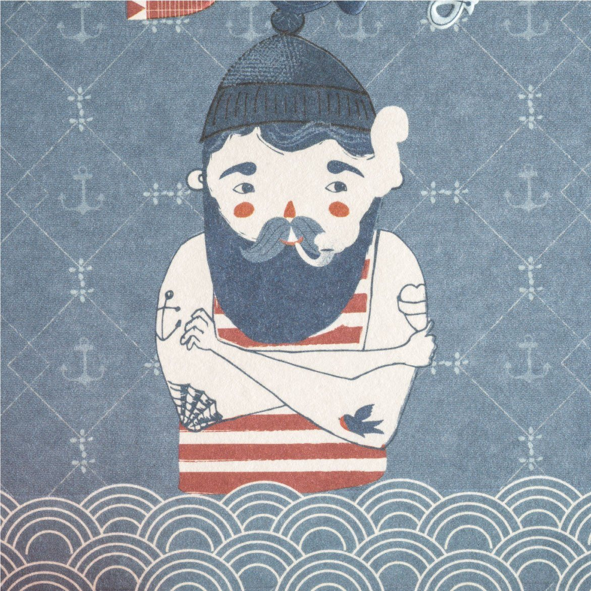 Happy Sailor Greeting Card - Generic Greeting Cards - MULTIFOLIA ATELIER di Rita Girola - Naiise