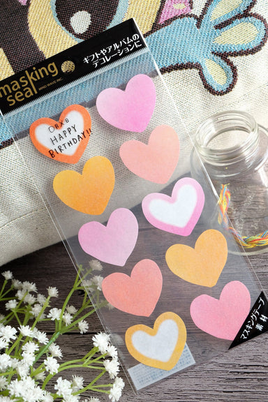 Heart Washi Sticker-77628 - Naiise