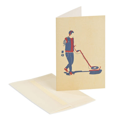 Heavy metal detector Greeting Card Generic Greeting Cards MULTIFOLIA ATELIER di Rita Girola