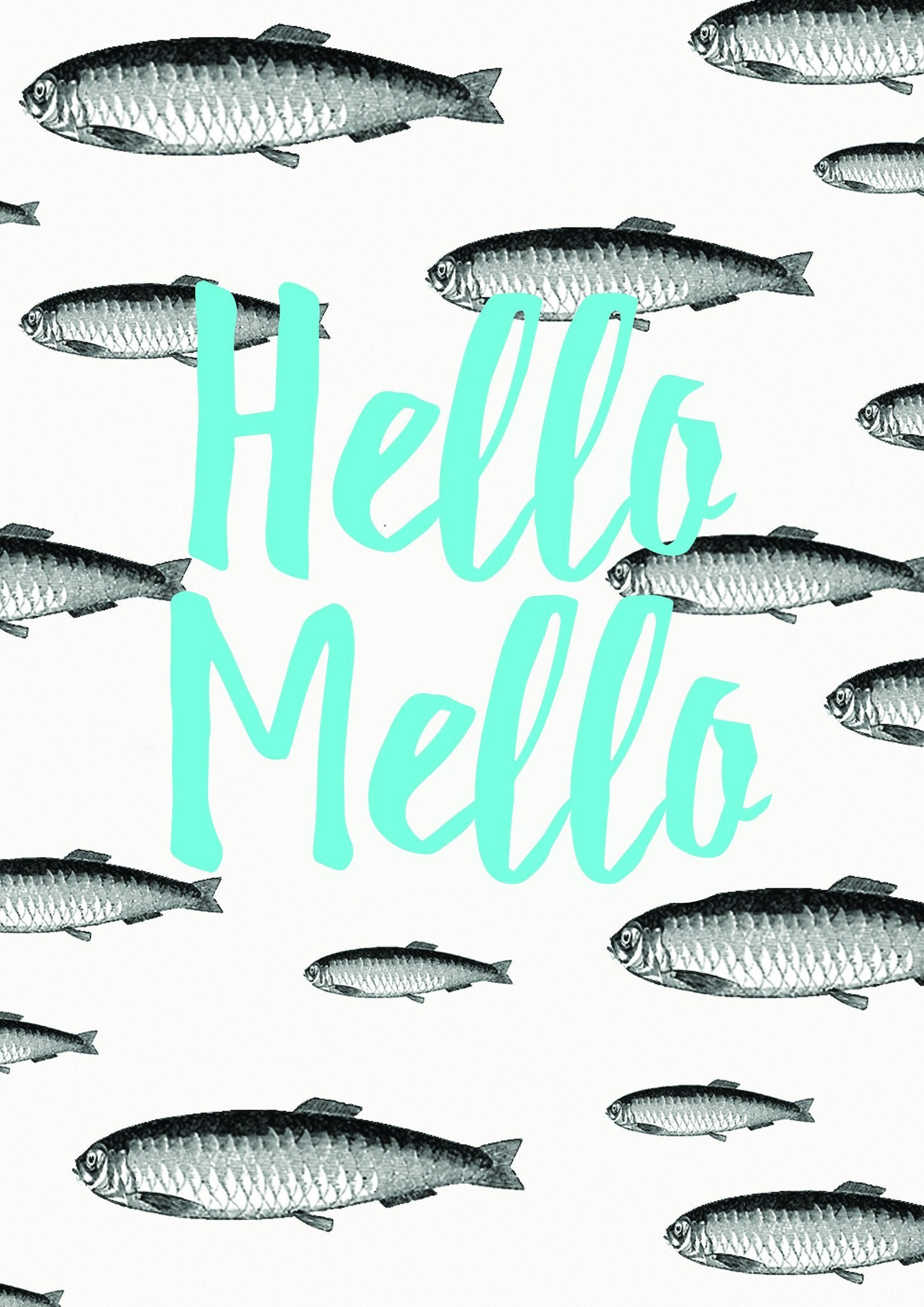 Hello Mello Postcard - Postcards - The Paper Happiness - Naiise