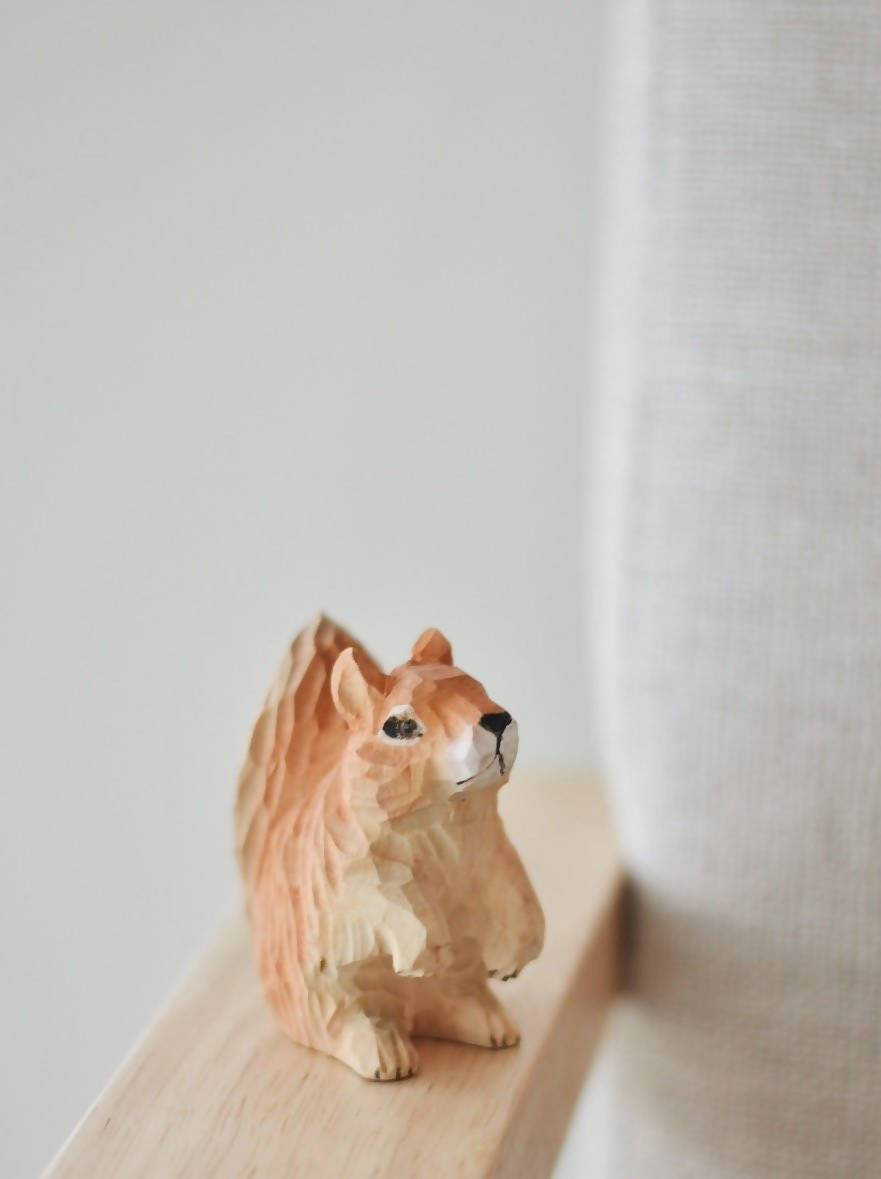 Heo the Squirrel - Toys - The Hiatus Label - Naiise