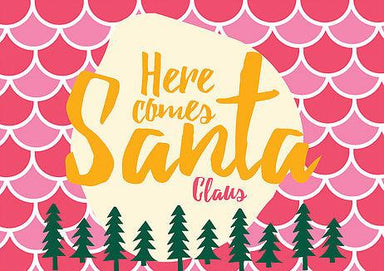 Here Comes Santa Claus Postcard - Postcards - The Paper Happiness - Naiise
