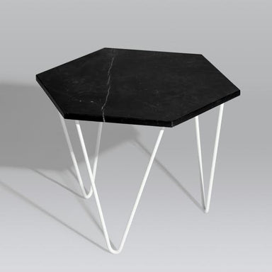 Hex Coffee Table (Black Marble) (Pre-Order) - Tables - Snap Design Co - Naiise