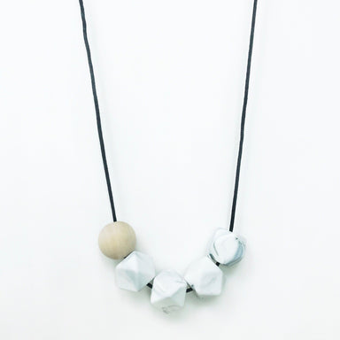 Hex Necklace - Marble - Necklaces - Anders & Dawn - Naiise