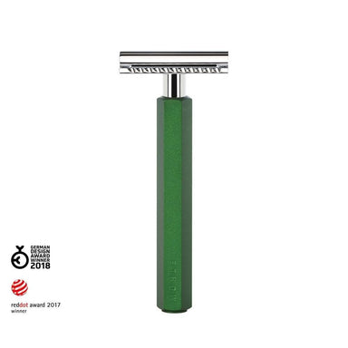 Hexagon safety razor, forest green - Safety Razor - MÜHLE Singapore - Naiise