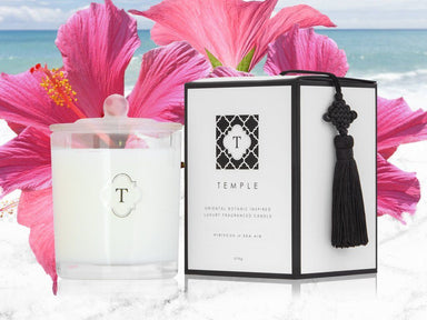 Hibiscus & Sea Air Candle Scented Candles Temple Candles