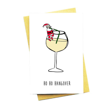 Ho Ho Hangover Christmas Card - Christmas Cards - Nocturnal Paper - Naiise