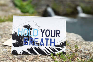 Hold Your Breath Greeting Card - Generic Greeting Cards - The Kardiacs - Naiise