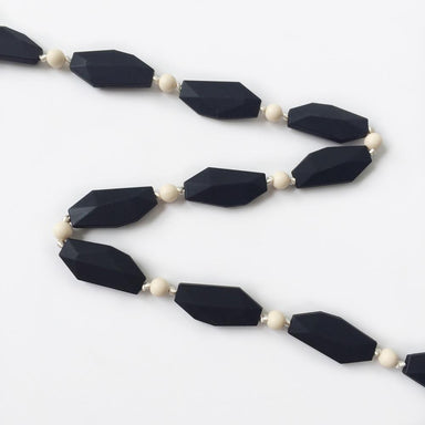 Holly Silicone Necklace - Black - Necklaces - Anders & Dawn - Naiise