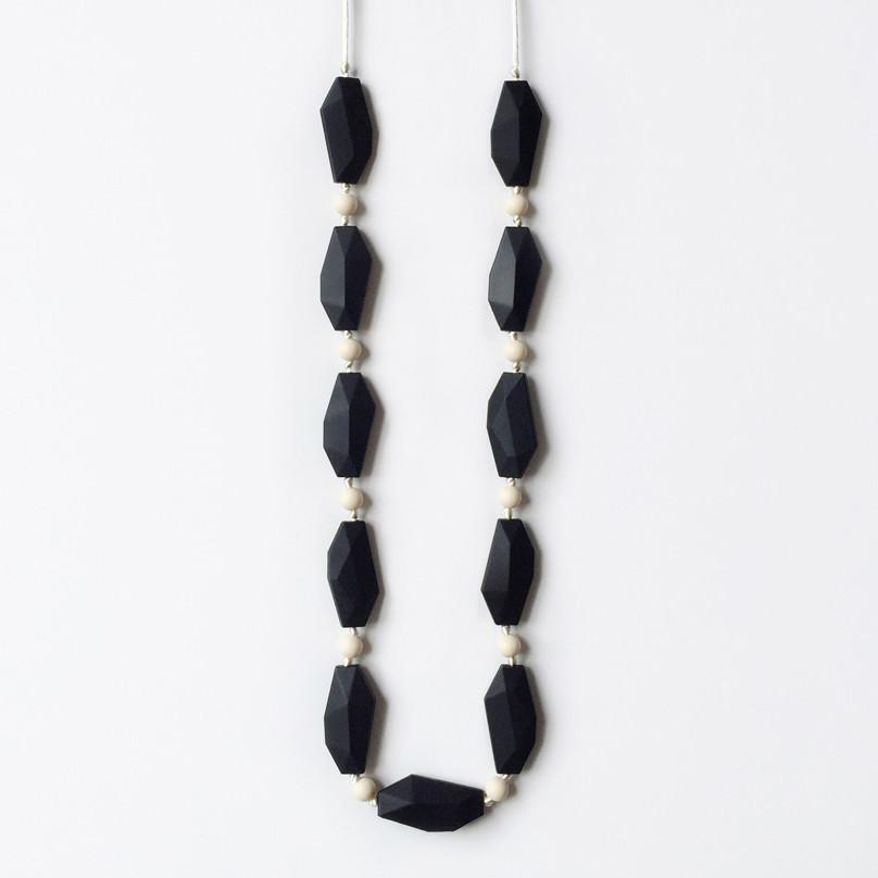 Holly Silicone Necklace - Black Necklaces Anders & Dawn