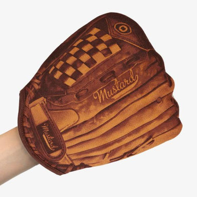 Home Run Baseball Oven Glove Oven Gloves Mustard