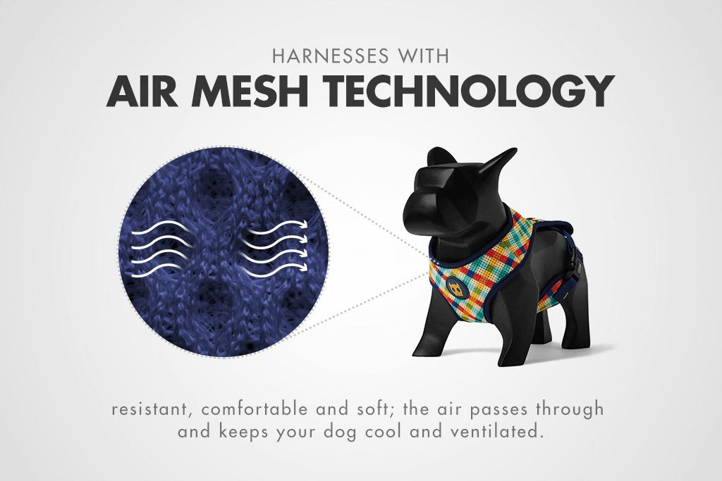Homer Air Mesh Pet Harness - Pet Harnesses - Zee.Dog - Naiise