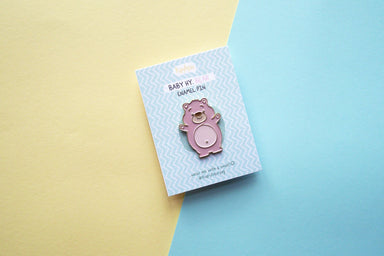 Honey Bear Enamel Pin - Pins - TispyTopsy - Naiise