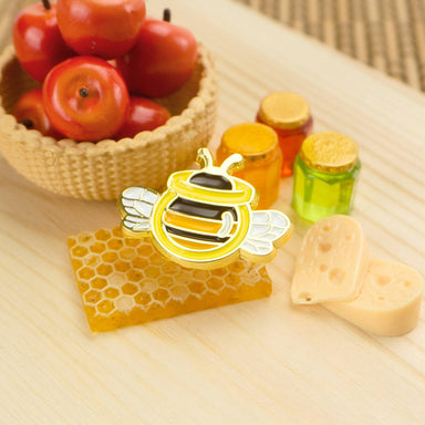 Honey Bee Enamel Pin - Pins - John Moniker - Naiise
