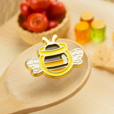 Honey Bee Enamel Pin Pins John Moniker