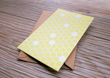 Honeycomb Card Generic Greeting Cards ditto ditto