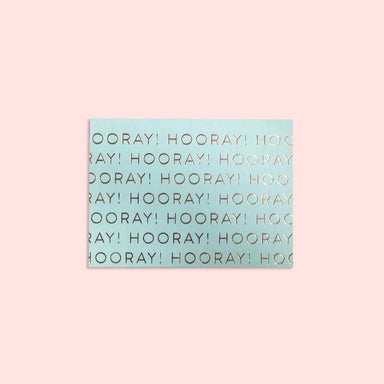 Hooray Card Congratulations Cards The Little Talks