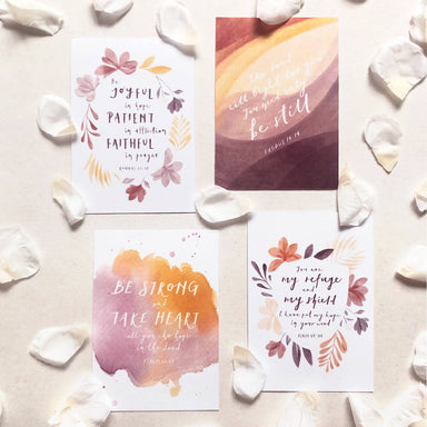 Hope Series | Inspirational Postcards (Set of 4) - Postcards - Papercranes Design - Naiise