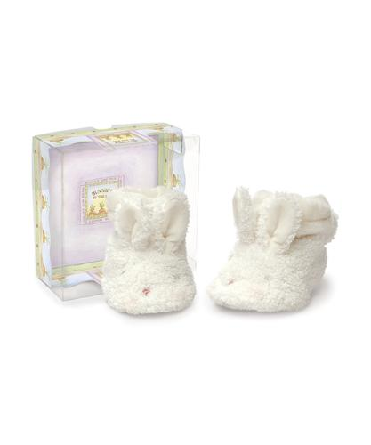 Hoppy Booties - White Kids' Shoes Bunnies By The Bay