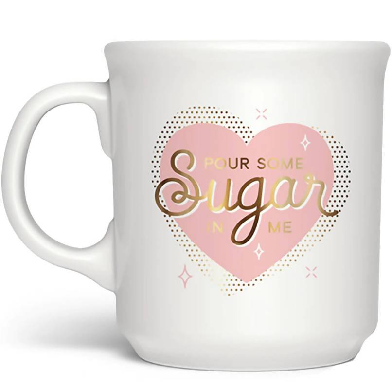 Fred - Pour Some Sugar In Me Mug - Mugs - The Planet Collection - Naiise