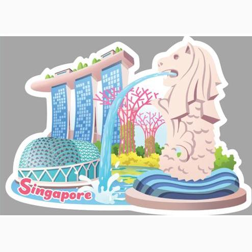 I Love Singapore Postcard Local Postcards Little Red Box