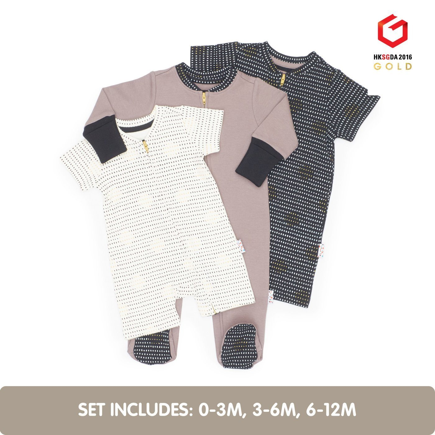 IBWD X Naiise - Growing Kit (3pcs Set), Newborn Tropical Babies Kids Clothing Buy Me Design