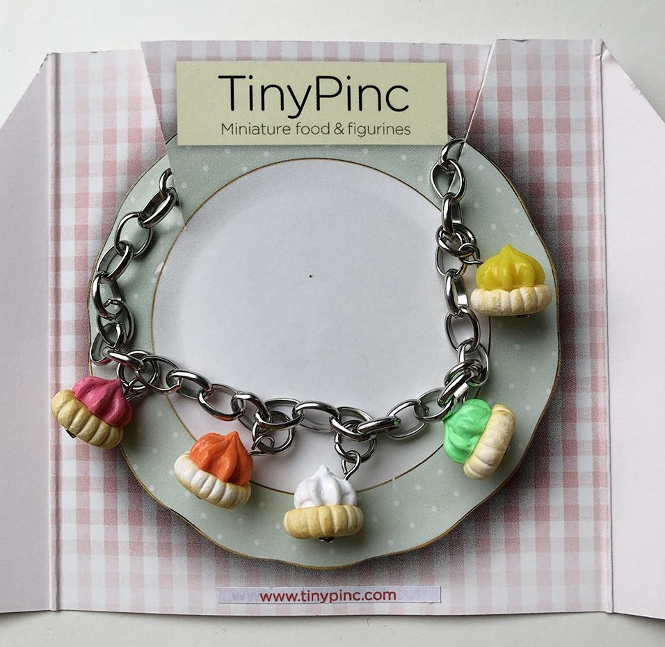 Iced Gems Bracelet (5 charms) - Local Bracelets - TinyPinc Miniatures - Naiise