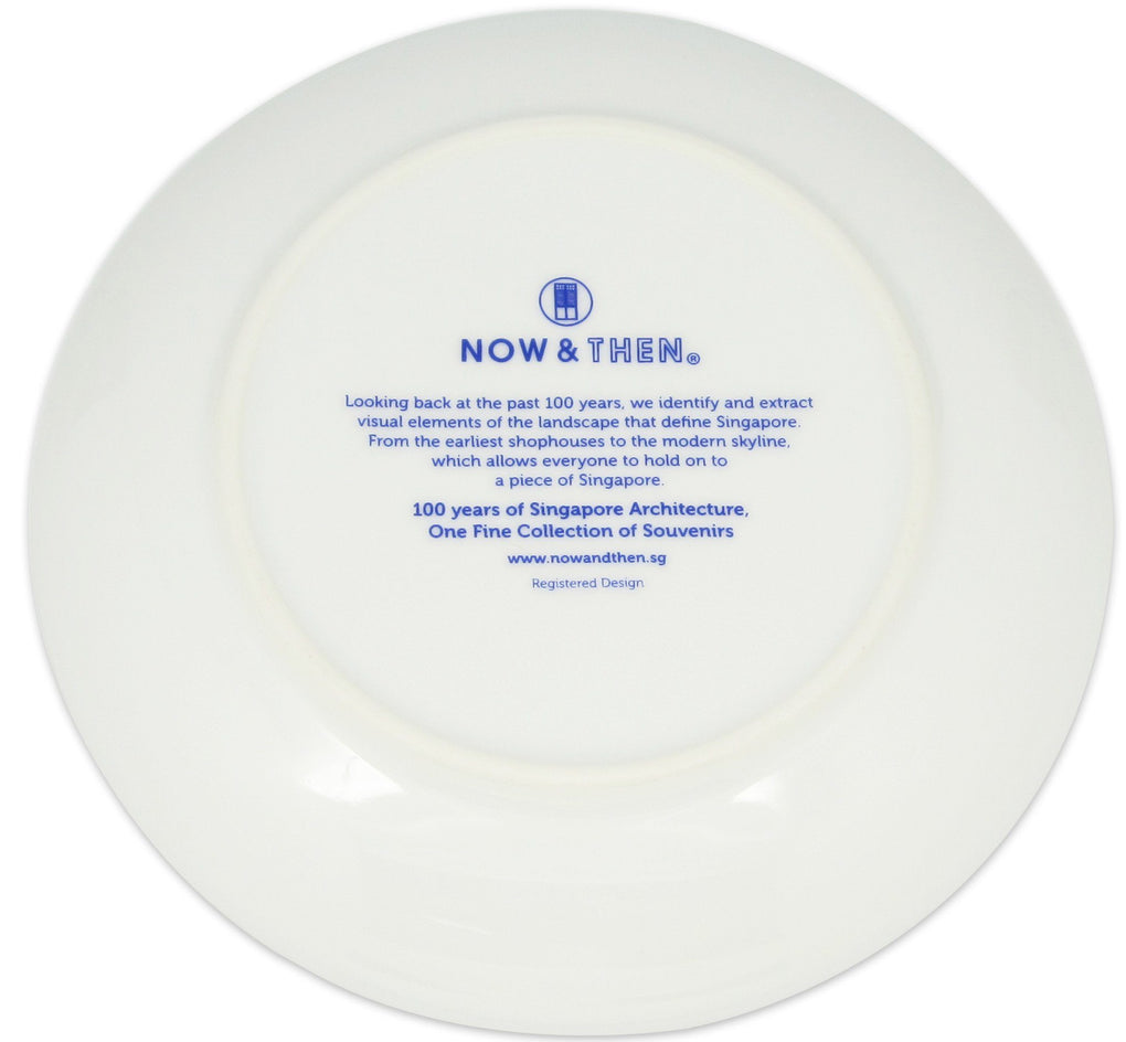 Iconic Architecture Memento Display Local Plates Now&Then