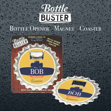 BOTTLE BUSTER - Best Bottle Opener : Bob - Bottle Openers - La Belle Collection - Naiise