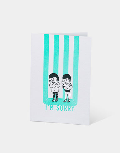 I'm Sorry Card - Sorry Cards - The Alphabet Press - Naiise